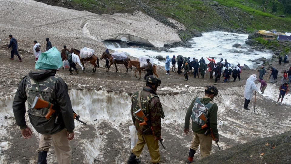 60 day Amarnath yatra is scheduled to conclude on August 26