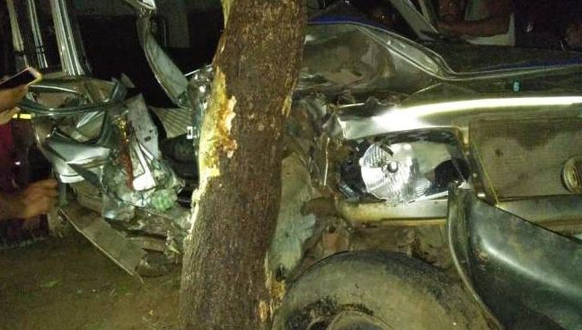 Accident, 1 dead, 3 injured in separate road accidents