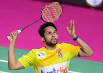 Parupalli Kashyap made a winning return after a long injury lay-off