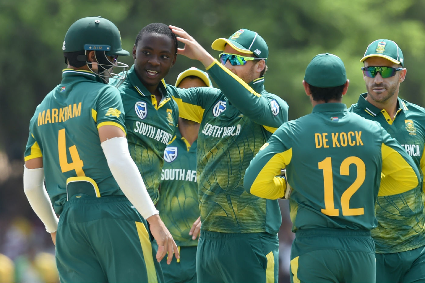 Rabada, Shamsi set up South Africa's five-wicket win