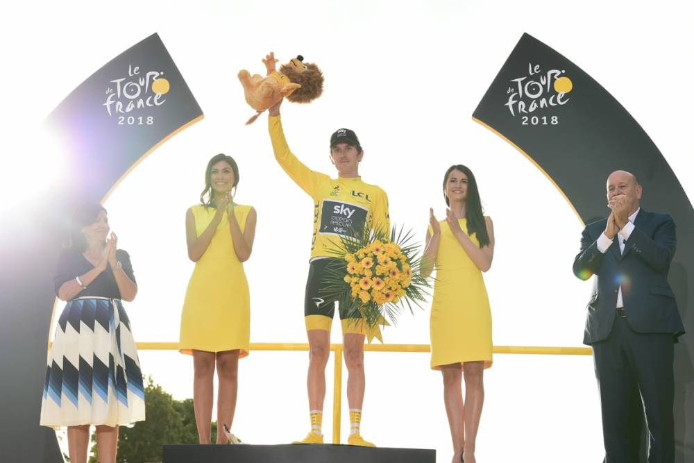 Geraint Thomas on winning Tour de France and Team Sky's future