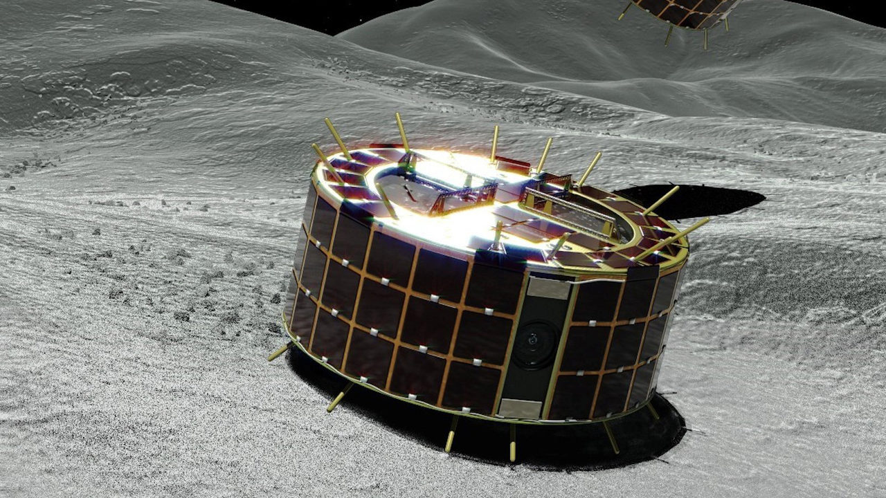 Japanese robots start asteroid survey
