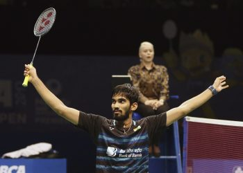 Kidambi Srikanth put up a clinical display and seal his spot in the quarterfinals of the Japan Open, Thursday