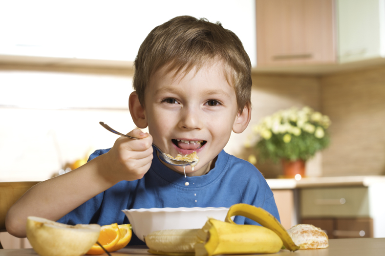 anti-oxidant dose child eating