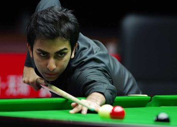 Pankaj Advani Thursday notched up his third straight IBSF billiards crown