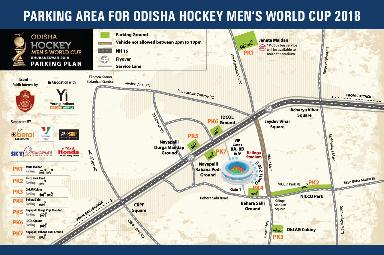 Nh Traffic Map.Traffic Curbs For Hockey World Cup Orissa Post
