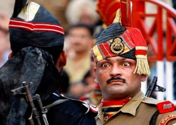 India Pakistan Wagah border parade