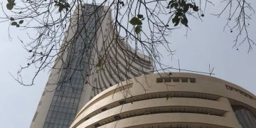 Sensex up 46 points in choppy trade on better macro-data