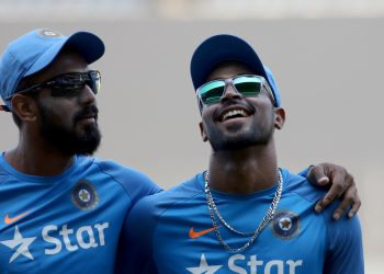 KL Rahul and Hardik Pandya. (IANS)