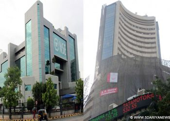 Sensex falls over 200 pts; Nifty tests 11,800