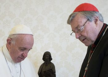 Pope Francis and Cardinal George Pell
