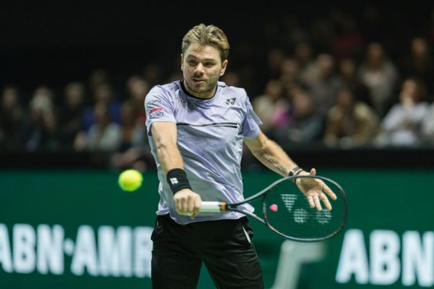 Wawrinka through as Paire switches off sports February 12, 2019 04:50