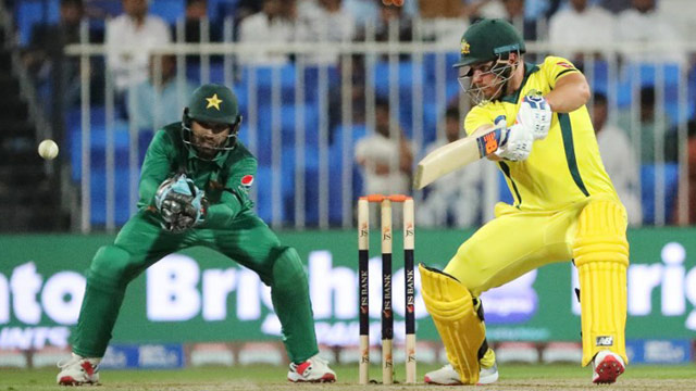 Finch's century helps fire Australia to eight-wicket win over Pakistan