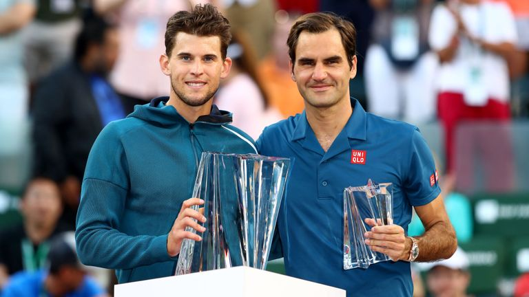 Thiem creates history with wild Federer choke