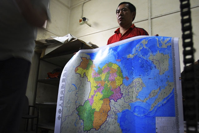 China to destroy three lakh 'incorrect' world maps - OrissaPOST on