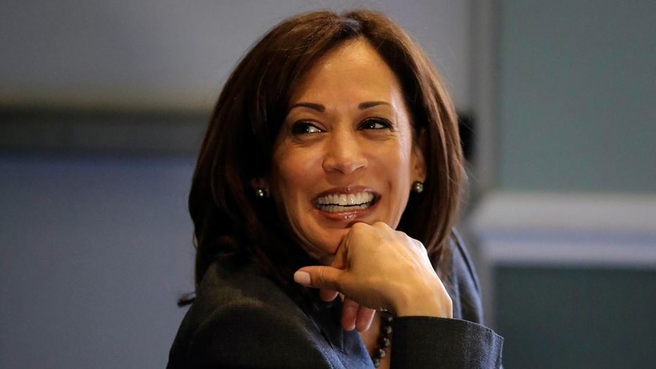 Democratic presidential candidate Senator Kamala Harris (AP photo)