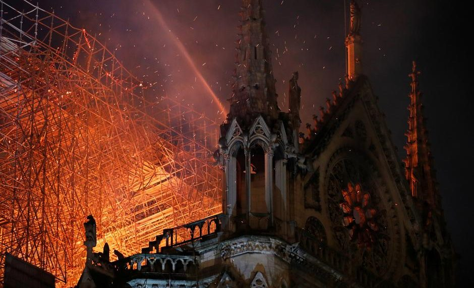 The Sydney-based expert said fire globally is the 'number one threat' for any such building, roughly 'one in 3,000 buildings' run that risk. (Image: Reuters)