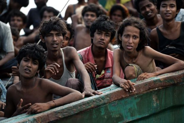 About 740,000 Rohingya fled Myanmar for Bangladesh following a brutal military clampdown in their home country in August 2017 joining hundreds of thousands already living in crowded camps