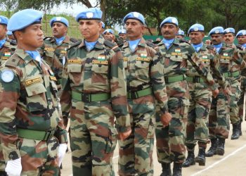 India is the largest troop contributor to UNPK