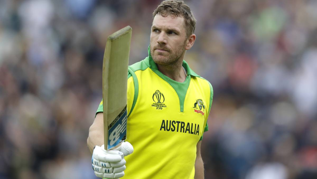 Aaron Finch happy to be a 'boring' captain